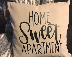 Home Sweet Apartment Decor College 18 X Pillow Cover