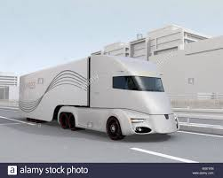 Self-driving Electric Semi Truck Driving On Highway. 3D Rendering ... Tesla Unveils Electric Semitruck Cbs Philly Semi Watch The Electric Truck Burn Rubber By Car Magazine Nikola Unveils Hydrogen Fuel Cell Semitruck Preorders Teslas Trucks Are Priced To Compete At 1500 The Sues Over Patent Fringement For A Fullyelectric Truck Zip Xpress West Crunching Numbers On Inc Nasdaqtsla Simple Interior 3d Model Cgstudio How Its Works Custom Cummins Semi Before Autoblog Gets Orders From Walmart And Jb Hunt