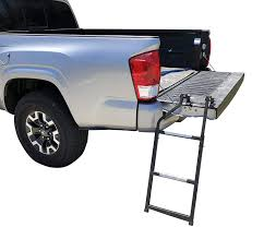 Amazon.com: Beech Lane Pickup Truck Tailgate Ladder - Universal Fit ...