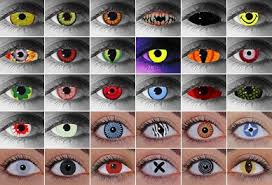 Blue Prescription Halloween Contacts by Halloween Contact Lenses Manhattan New York City Nyc