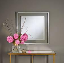 casa padrino designer wandspiegel 90 x h 90 cm wohnzimmer spiegel garderoben spiegel luxus möbel