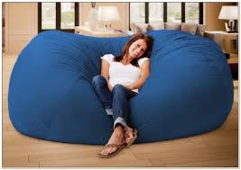Fuf Bean Bag Chair By Comfort Research by Comfort Research 6 Foot Xl Fuf Chair Chairs Home Decorating