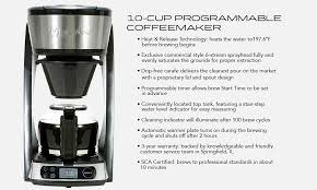 For Sixty Years We Have Been Manufacturing Commercial Coffee Brewing Equipment That Consistently Delivers SCAA Golden Cup Standards Restaurants And