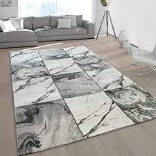 paco home wohnzimmer teppiche grau gold weich marmor optik kurzflor mit vers designs grösse 160x230 cm farbe silber