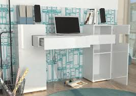 bureau blanc laqu design bureau blanc laqu design bureau blanc laqu brillant unique bureau
