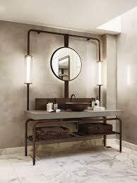 51 Industrial Style Bathrooms Plus Ideas & Accessories You Can Copy ... Bathroom Fniture Find Great Deals Shopping At Overstock Pin By Danielle Shay On Decorating Ideas In 2019 Cottage Style 6 Tips For Mixing Wood Tones A Room Queensley Upholstered Antique Ivory Vanity Chair Modern And Home Decor Cb2 Sweetest Vintage Black Metal Planter Eclectic Modern Farmhouse With Unexpected Pops Of Color New York Mirrors Mcgee Co Parisi Bathware Doorware This Will Melt Your Heart Decor Amazoncom Rustic Bath Rug Set Tea Time Theme Chairs Plum Bathrooms Made Relaxing