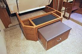 Rv Furniture Center Rv U0026 by Furniture Solitude Under Bed Storage And Ottoman Good Life Rv