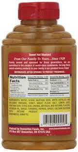 Lamps Plus Beaverton Oregon by Amazon Com Beaver Brand Sweet Mustard 13 Ounce Squeezable