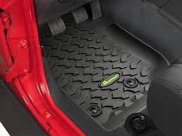 Husky Liners Weatherbeater Floor Liners by Quadratec 14254 0311 Ultimate All Weather Front Floor Liners For