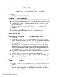 Medical Assistant Resume No Experience Shalomhouse Beautiful Of Sample For With