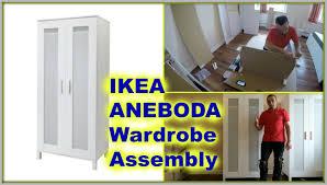 Ikea Aneboda Dresser Hack by Ikea Aneboda Wardrobe Youtube