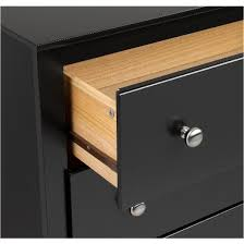 Target Black 4 Drawer Dresser by 6 Drawer Dresser Black Prepac Target