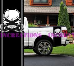 100 Ford Truck Decals 2019 For Universal Skull F 150 Side Stripes