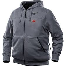 milwaukee 301g 20xl m12 heated hoodie only gray xl