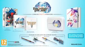 Final Fantasy Theatrhythm Curtain Call Dlc by Final Fantasy Explorers Collector U0027s Edition Can Now Be Pre Ordered