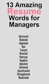 Using The Word I In A Resume by Top Resume Words Resumess Franklinfire Co