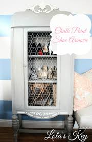 Chalk Paint Shoe Armoire ‹ Lola's Key Mudroom Cabinets For Sale Coat And Shoe Storage Ikea Simple Solid Wood Armoire 2 Sliding Doors Hang Rods 4 Roomy The Mirrored Hammacher Schlemmer 25 Organizer Ideas Hgtv 20 That Are Both Functional Stylish Cupboard For Hallway Armoire Shoe Storage Bedroom Organizers Martha Stewart Stunning Wardrobe Closet Unfinished Roselawnlutheran Fniture Wardrobe Cedar Emerald Estate Shoe Armoire Guildmaster Art Deco Vanity Two Night And A Cabinet