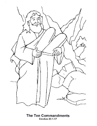 Moses Coloring Pages 11329 In Bible