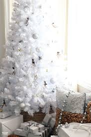 White Christmas Tree Decor Ideas Rustic Glam Style If You Love Neutral Home