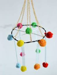 How To Make Hanging Decorations For Your Room With Chenille Stems