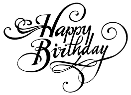 Happy Birthday Letter Design Letters Font