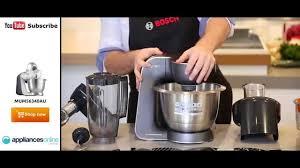 de cuisine bosch mum5 bosch mum56340au mum5 900w food mixer unboxed with all the