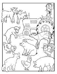 Free Printable Farm Coloring Pages And Sheets Can Be Found In The