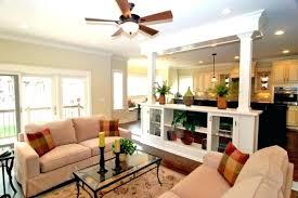 Open Floor Plan Paint Colors Kitchen Living Room Concept Design Ideas