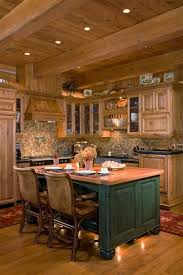 Rustic Log Cabin Kitchen Ideas by 901 Best Rustic Kitchens U0026 Dining Areas Images On Pinterest