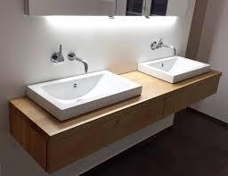waschtisch aus eiche mit schubkasten waschtisch gästebad