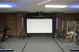 Ceiling Mount For Projector Screen by Aeon Series Edge Free Projector Screen Edge Zero Projection
