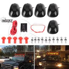 Promo Whdz 5pcs Amber Yellow Led Cab Roof Top Marker Running ... 1pc 8 Led Side Marker Red Amber Truck Trailer Clearance Lights Lamp Partsam 20 Pcs 2 Beehive Led Marker Lights Truck Boat Trailer Amazoncom Peterbiltstyle 615inch 12 Amber Diodes 2009 2014 F150 Front Llights F150ledscom Features 6pcs 12v Side Indicator Oval Phoenix P1 Clearance Light Elite Accsories Best Marker Lights For Trucks Cab Rangerforums The Ultimate Ford Ranger Resource Cheap Rv Find Deals On Line At Ijdmtoy 5pcs Black Smoked Roof Top Running Lamps With Dodge Ram Unique 2006 2500hd Quad