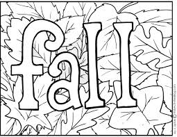 Coloring Pages Fall For Kids Printable At 4
