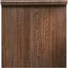 revêtement adhésif bois brun marron 0 45 x 2 m leroy merlin