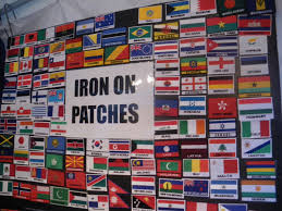 Iron On Flag Patches In Brisbane Australia
