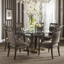 Pier One Dining Room Tables by Round Glass Top Dining Room Table Foter