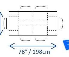 Stunning Design Typical Dining Room Dimensions Minimum Table Size 6 Jpg What Does This Mean For