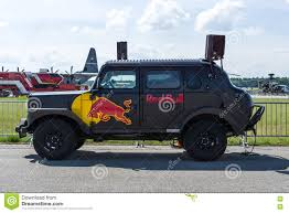 Red Bull Hot Truck On The Airfield. Editorial Stock Photo - Image Of ...