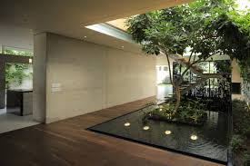 100 Japanese Modern House Courtyard Relaxing Air From