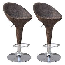 HomCom Rattan Wicker Adjustable Swivel Home Pub Bar Stool - Set Of 2 Bemkenswert Pub Style Table Height Chairs Extenders Stools Glacier With 4 Post Mission Swivel Bar Units And Tables Set 19 Small Upholstered By New Classic At Lapeer Fniture Mattress Center Cramco Trading Company Starling 3 Piece Pinnadel Counter Stool Ashley Homestore Details About Round Natural Wood Top Bistro Kitchen Ding S2a4 Muskoka Swivel Balcony Chairs 499 Cottage D White Folding And Chair Dinette With Replace Rv Sets Homesfeed