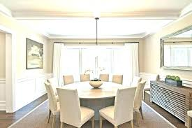 Round Tables That Seat 8 Inch Dining Table Seats How Many