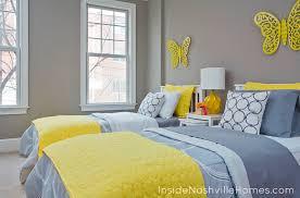 Yellow And Gray Bedroom Decorating Ideas Stunning Coastal
