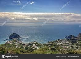 100 Angelos Landscape Angelo Island View Ischia Island Stock Photo OREHDR 210318702