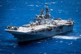 Cruise Ship Sinking 2016 by Russian Destroyer Shadows Uss America Near Hawaii