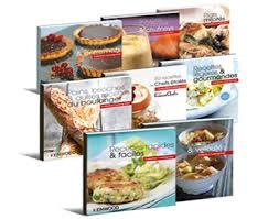 livre de cuisine cooking chef le multifonction le cooking chef de kenwood