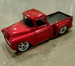 100 Stepside Trucks Jada 132 1955 Chevy STEPSIDE Pickup Diecast Pull Back Truck Model