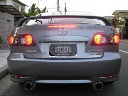 what is the bulb for the 5 door third brake light mazda 6