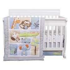 Jungle Fun 6 Piece Crib Bedding Set Trend Lab