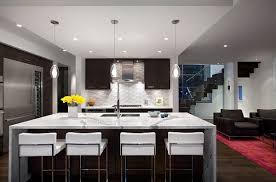 Marvelous Pendant Lighting Also Bar Table And Chair For Modern Kitchen Island