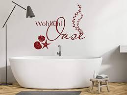 grazdesign wandtattoo wohlfühloase badezimmer sprüche